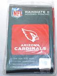 Arizona Cardinals Rain Poncho, One size fits all adult unisex